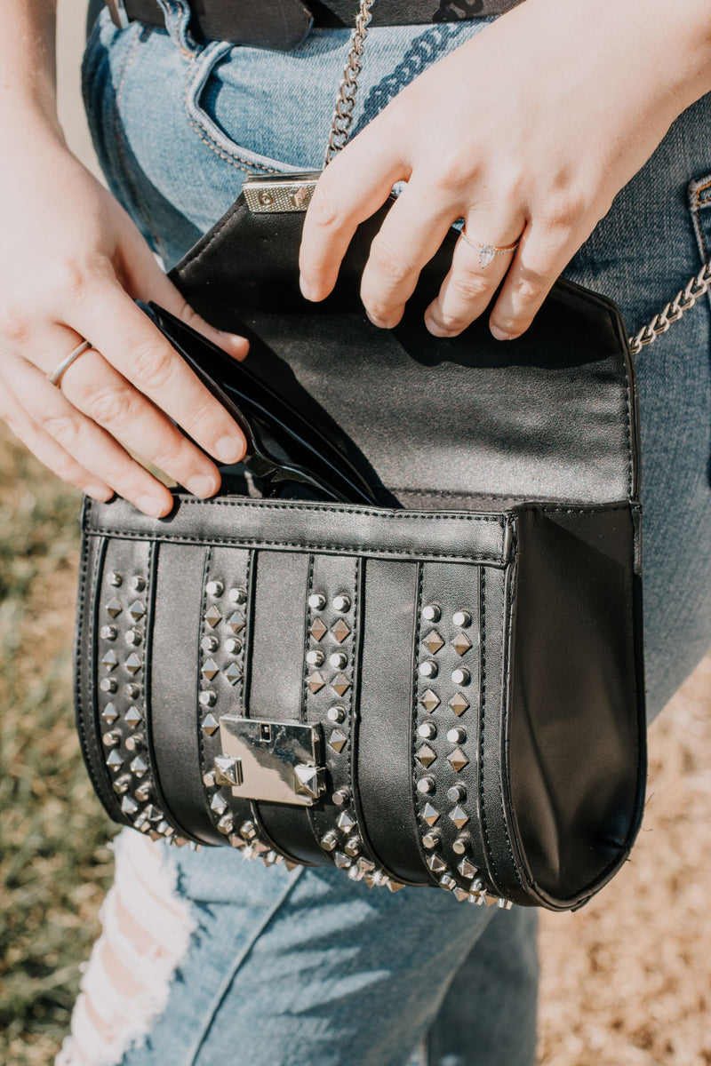 On Thursdays We Wear Black Crossbody
