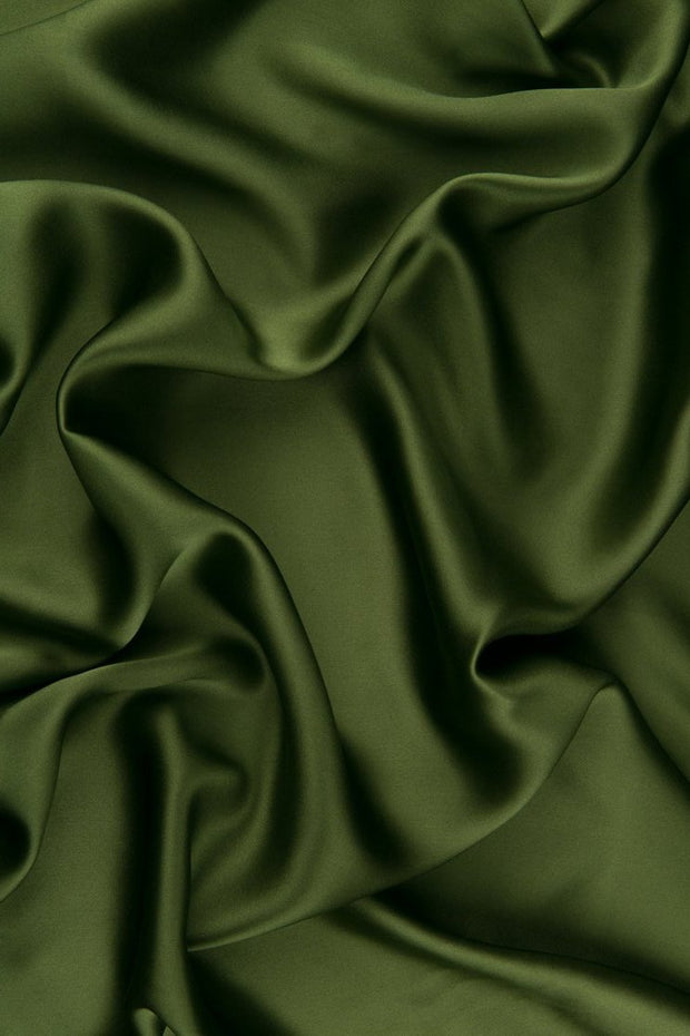 Grasshopper Stretch Charmeuse Fabric