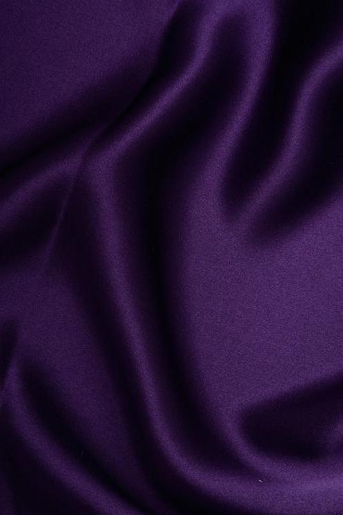 Mulberry Purple Stretch Charmeuse Fabric