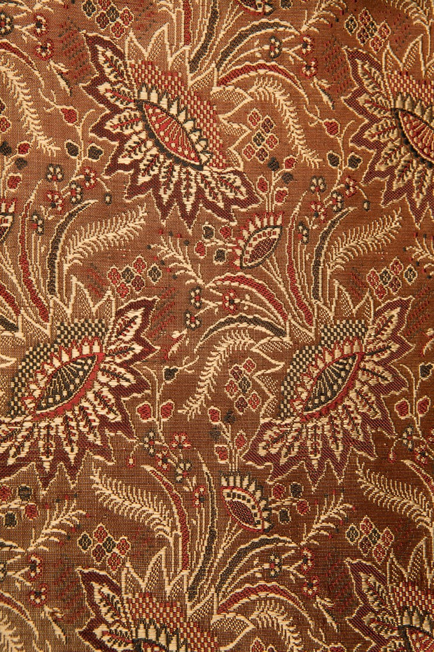 Bronze Silk Brocade 418 Fabric