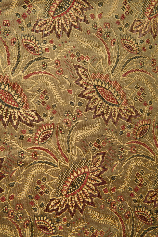 Gold Silk Brocade 418 Fabric