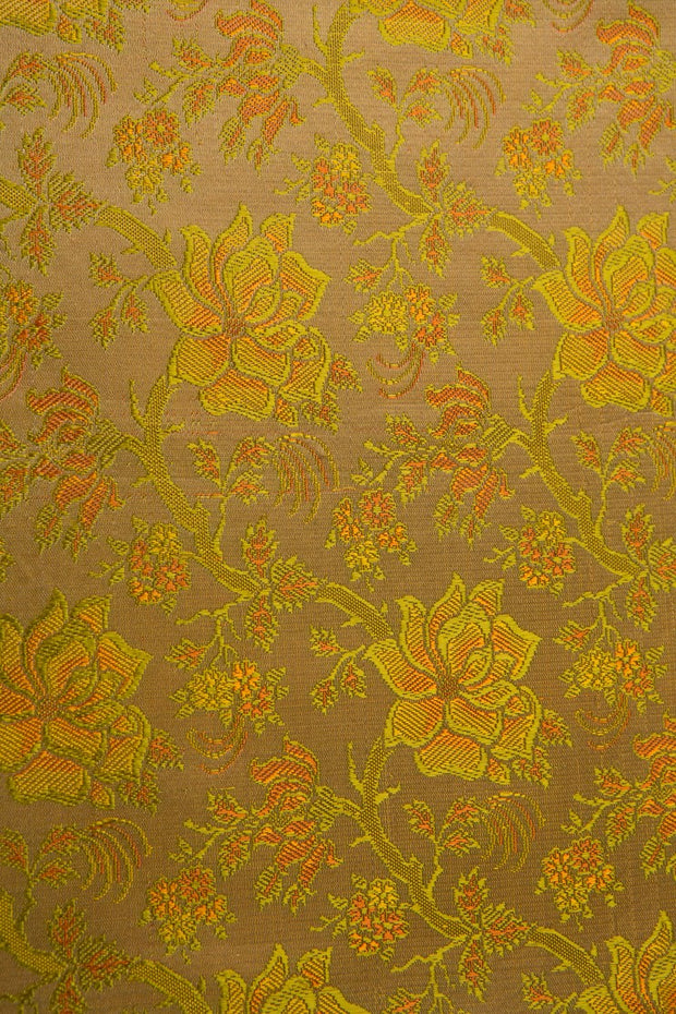 Gold Silk Brocade 434 Fabric