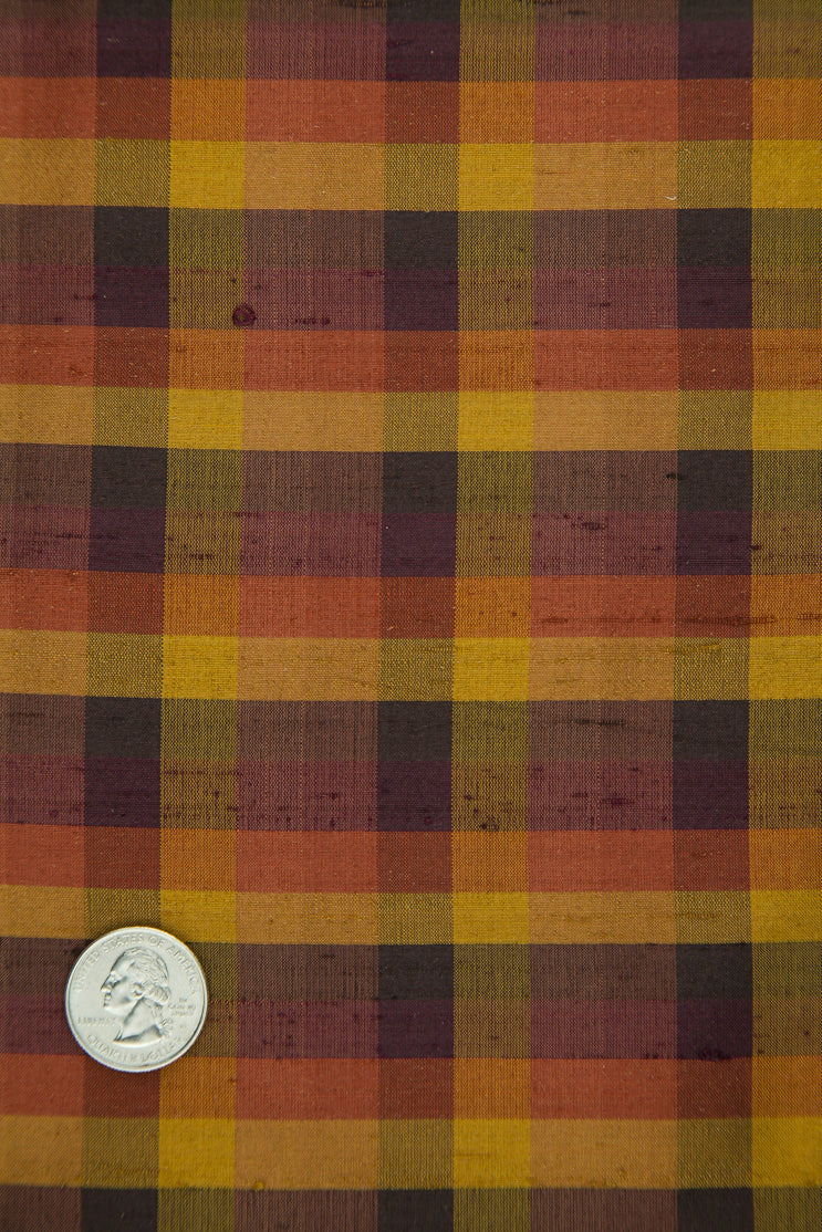 Fabric | Plaid | Silk