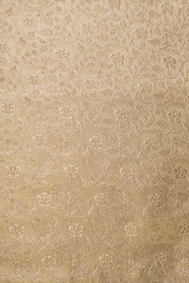 Gold Silk Brocade 466 Fabric