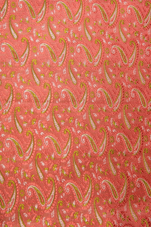 Pink Silk Brocade 494 Fabric
