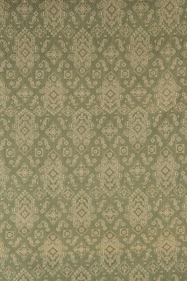 Green Silk Brocade 502 Fabric