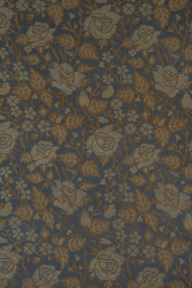 Sky Blue Silk Brocade 526 Fabric