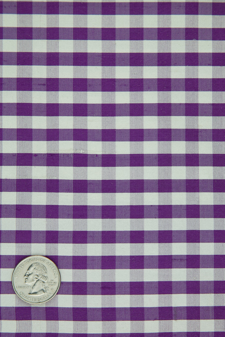 Violet | Fabric | Plaid