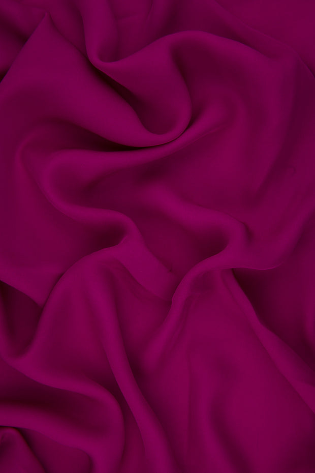 Rose Silk Double Georgette Fabric