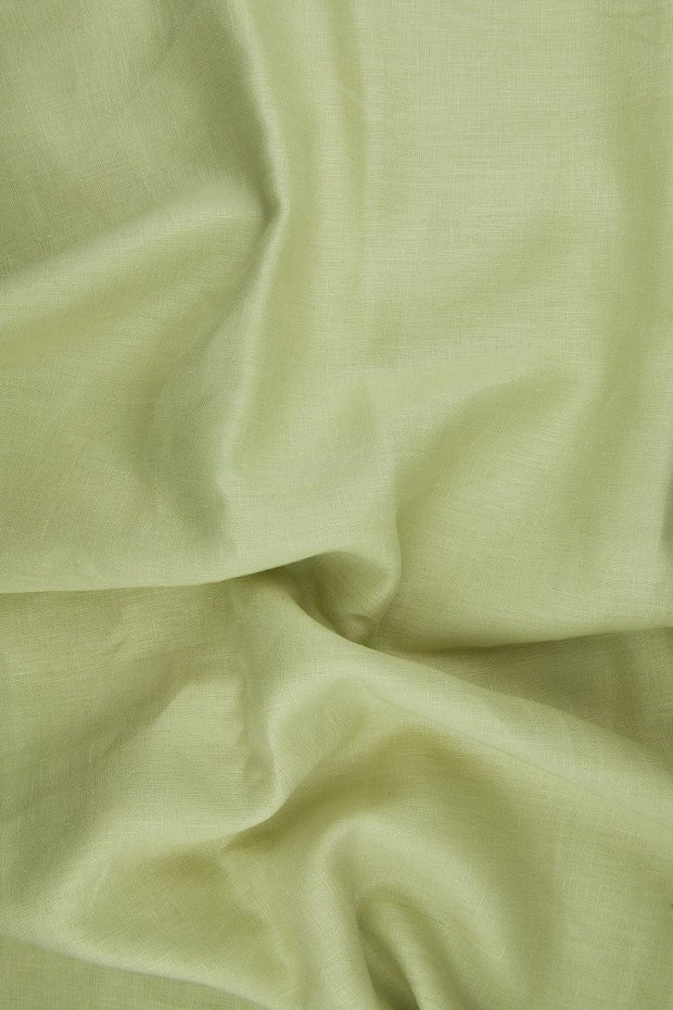 Chamois Medium Weight Linen Fabric