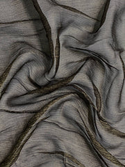 Black Burnt Gold Viscose JEAD-034 Fabric