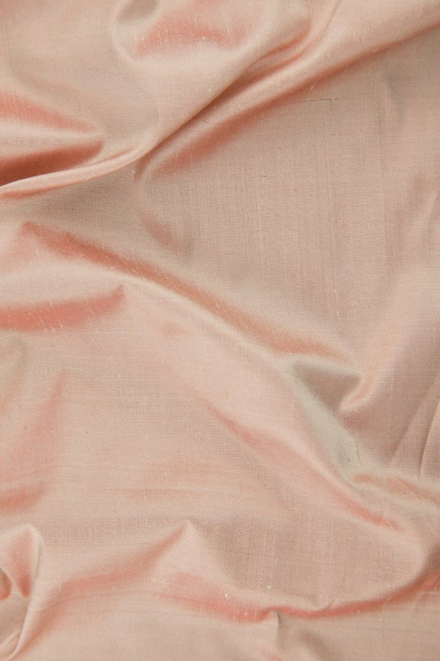 "Chintz Rose Silk Shantung 54"" Fabric"