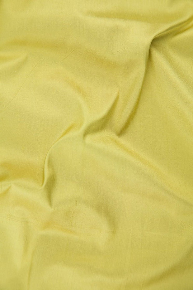 "Cream Gold Silk Shantung 54"" Fabric"