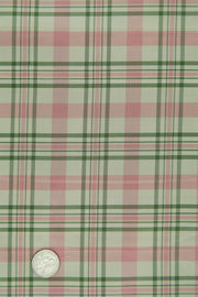 Pink Silk Taffeta Plaids & Stripes 021 Fabric