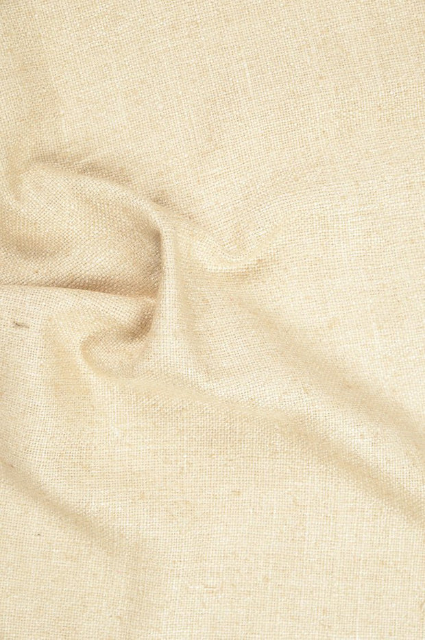 Almond Silk Linen (Matka) Fabric