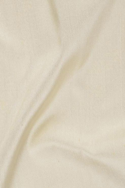 "Almond Oil Silk Shantung 54"" Fabric"