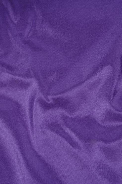 Amaranth Purple Taffeta Silk Fabric