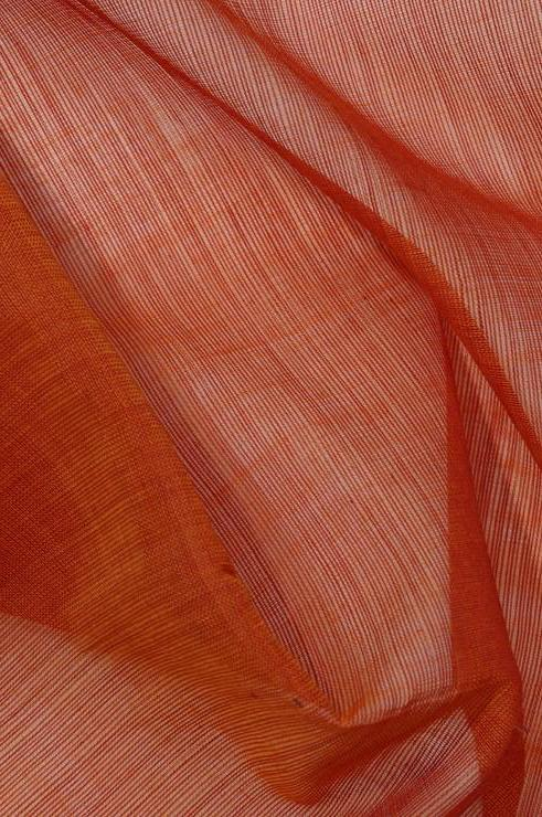 Apricot Orange Cotton Voile Fabric