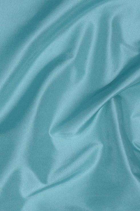 Aqua Blue Taffeta Silk Fabric