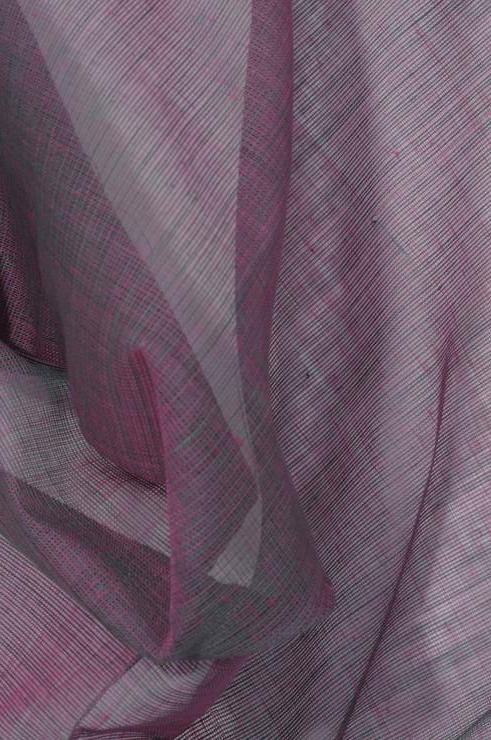 Aqua Purple Cotton Voile Fabric