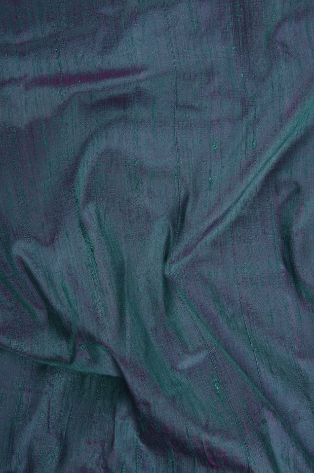 Baltic Fuchsia Dupioni Silk Fabric