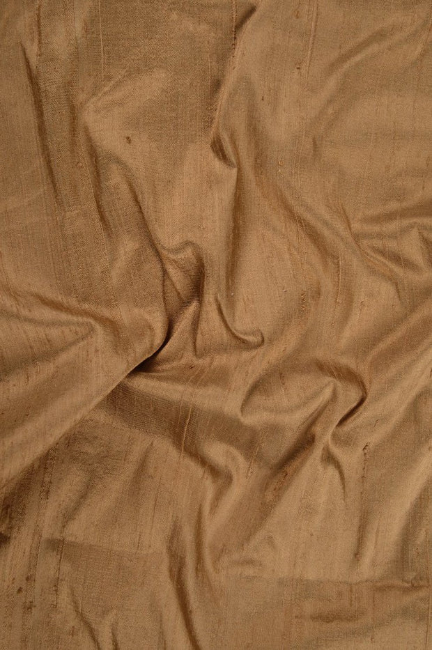 Biscuit Dupioni Silk Fabric