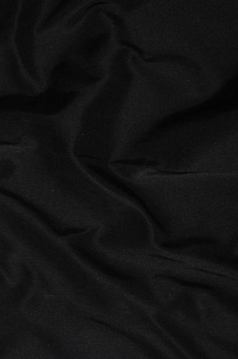 Black Heavy Taffeta Silk Fabric