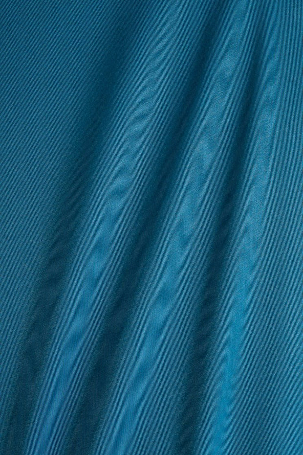 Blue Turquoise Silk Faille Fabric