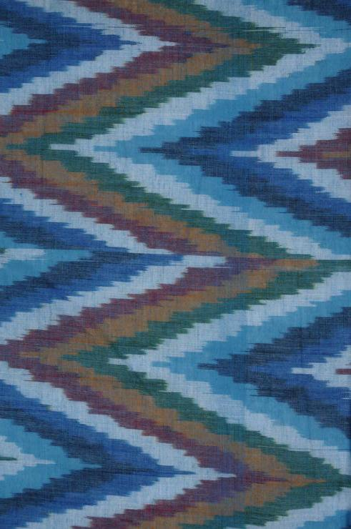 Bluejay Cotton Ikat 102 Fabric