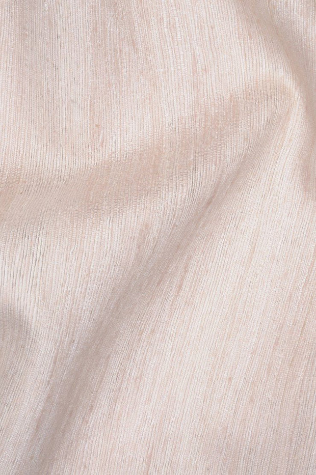 Blush Pink Katan Matka Silk Fabric
