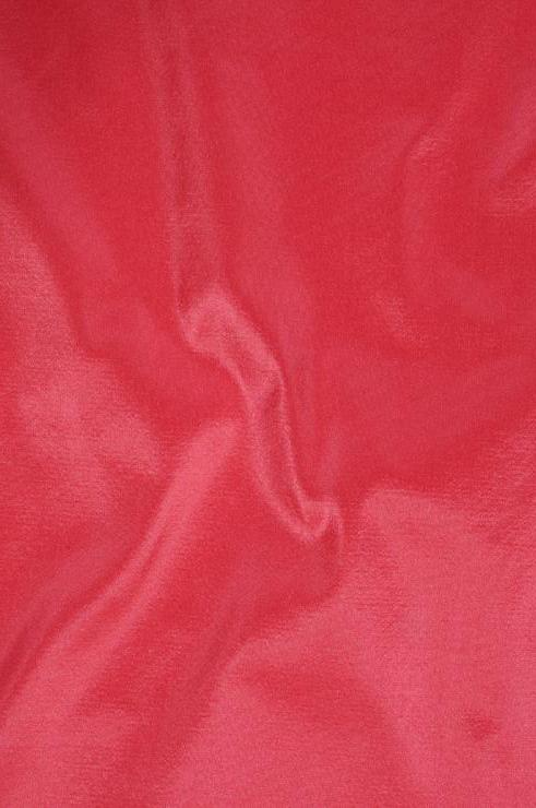 Bright Pink Taffeta Silk Fabric