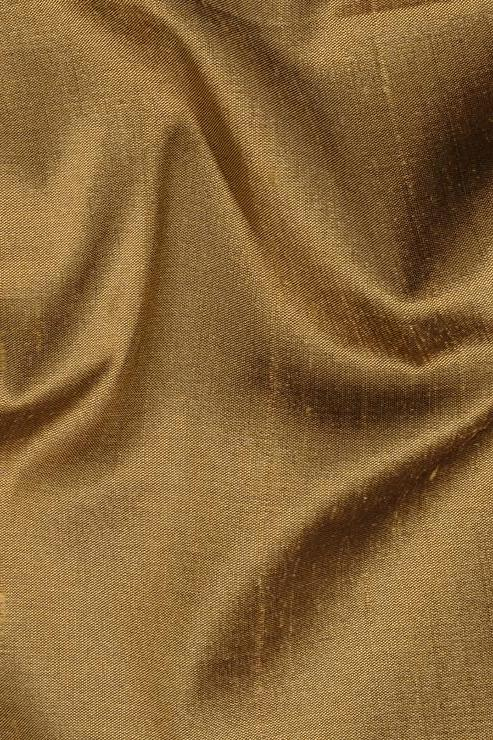 "Bronze Silk Shantung 54"" Fabric"