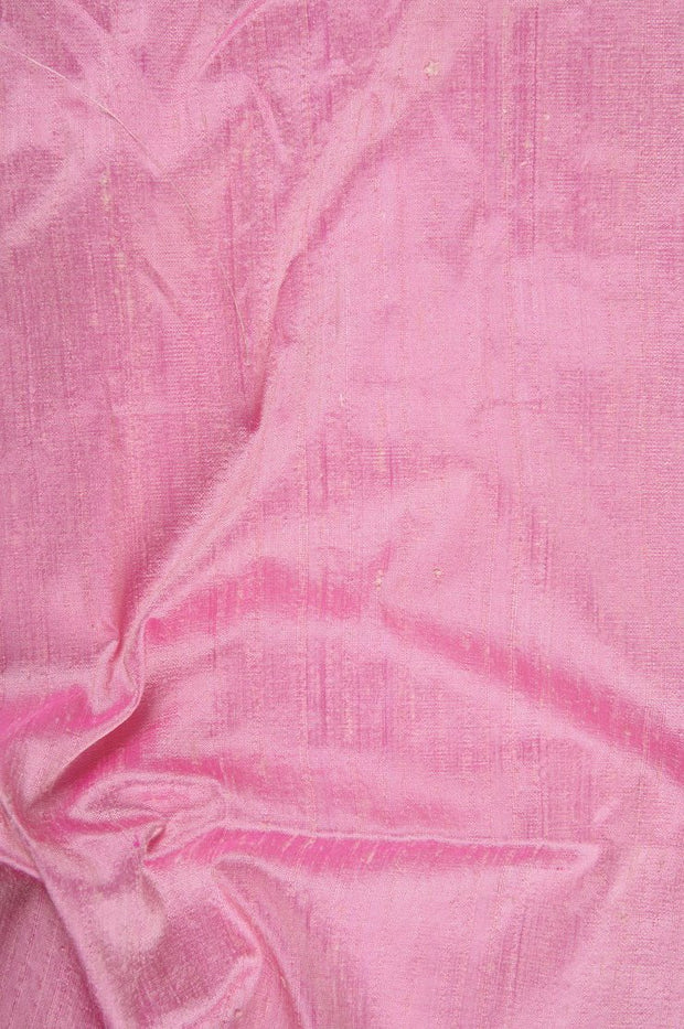 Bubble Gum Dupioni Silk Fabric