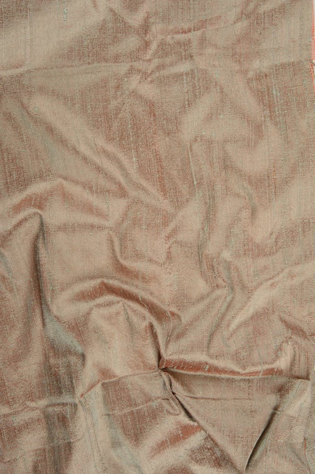 Candied Ginger Dupioni Silk Fabric