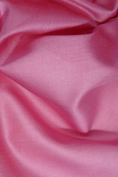 Cashmere Rose Cotton Silk Fabric