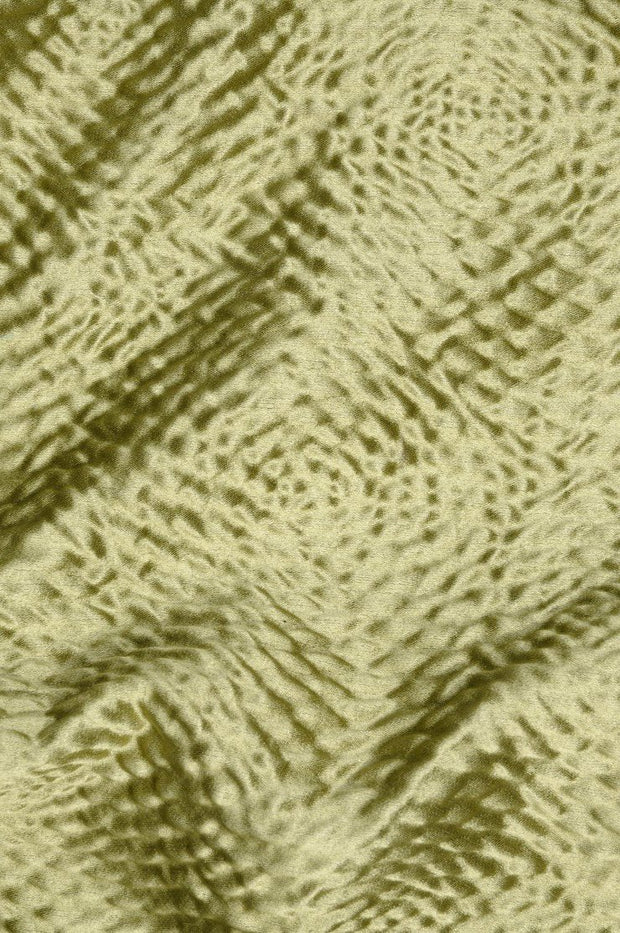 Cedar Green Hammered Satin Fabric