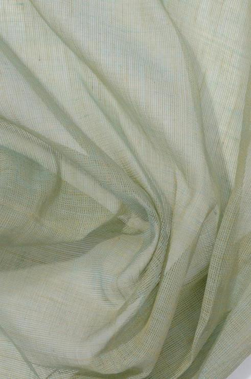Celadon Green Cotton Voile Fabric