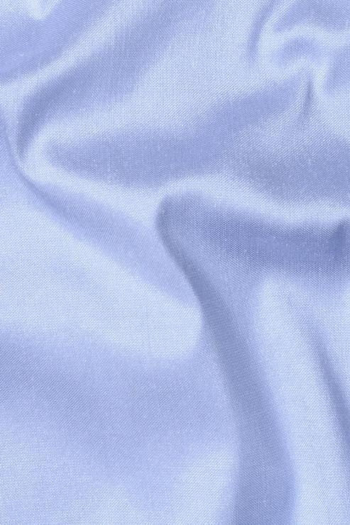 "Celestial Blue Silk Shantung 54"" Fabric"