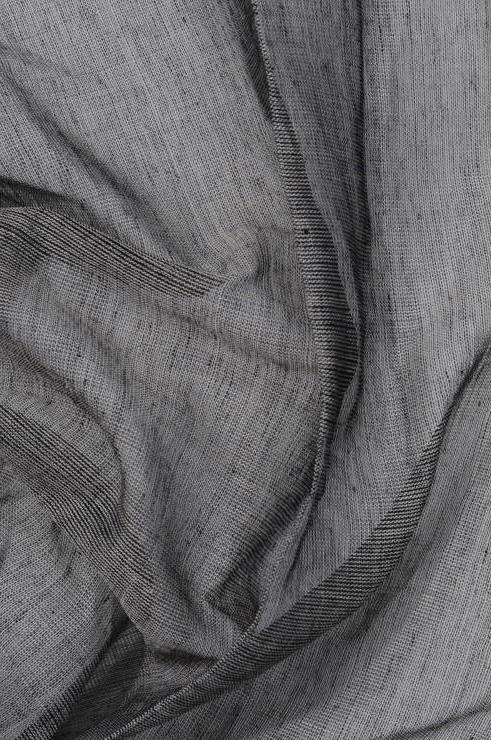 Charcoal Grey Cotton Voile Fabric