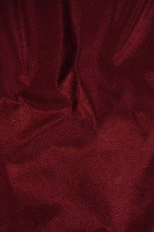 Crimson Taffeta Silk Fabric