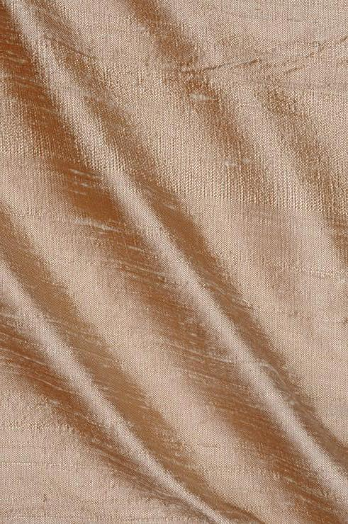 Cuban Sand Dupioni Silk Fabric