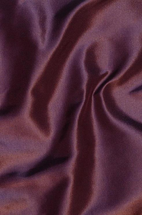 Dark Burgundy Taffeta Silk Fabric