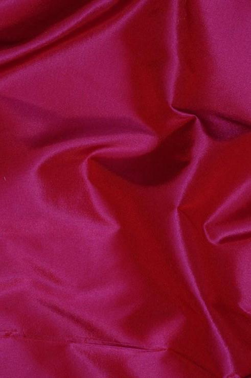 Dark Magenta Taffeta Silk Fabric