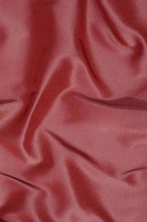 Dark Rose Heavy Taffeta Silk Fabric