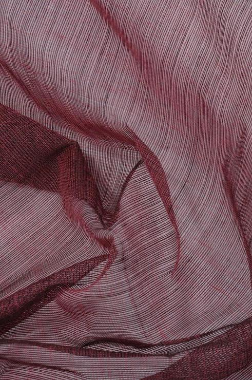 Deco Rose Cotton Voile Fabric