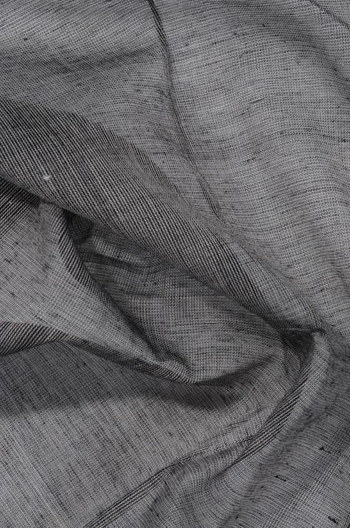 Ebony Grey Cotton Voile Fabric