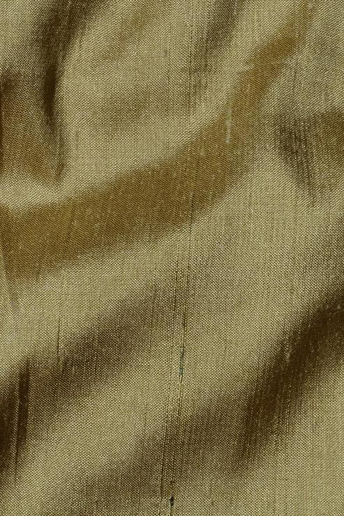 "Forest Green Silk Shantung 44"" Fabric"
