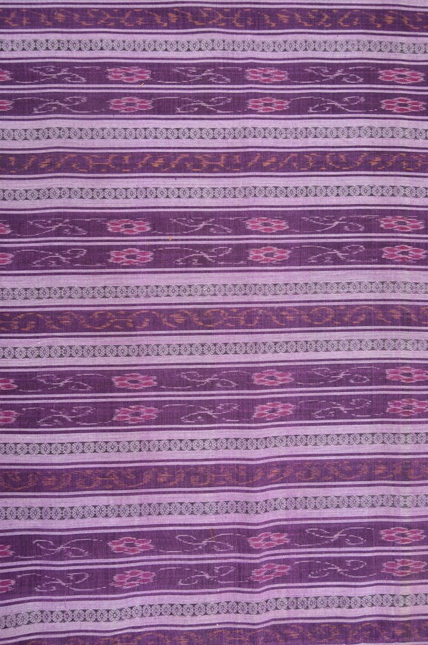 Grape Cotton Ikat 132 Fabric