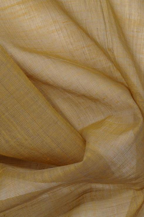 Golden Glow Cotton Voile Fabric