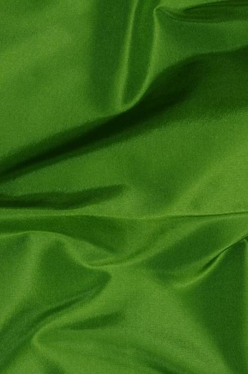 Grass Green Taffeta Silk Fabric